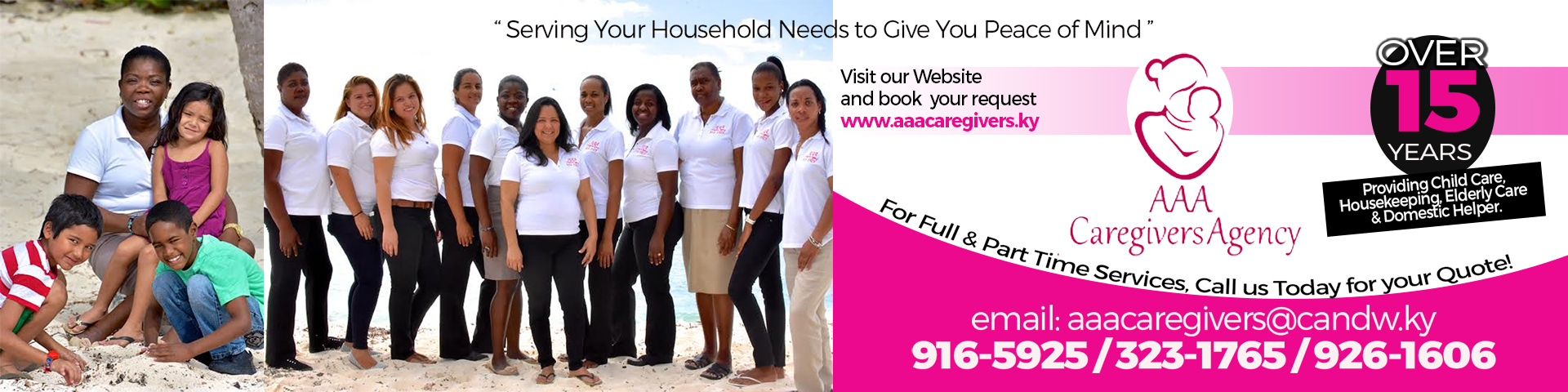 Check out the latest job openings by AAA caregivers agency